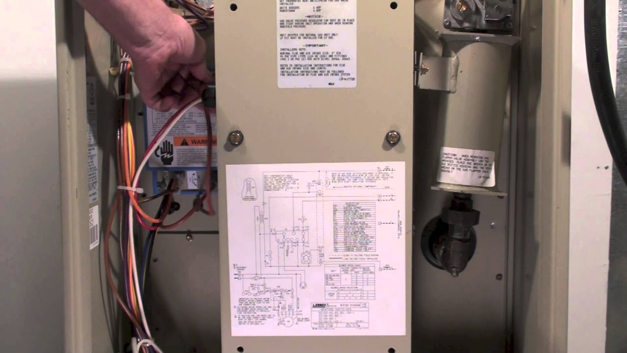 small resolution of lennox furnace wiring panel