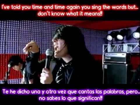 Im Not Okay My Chemical Romance Traducida Al Espaol Youtube