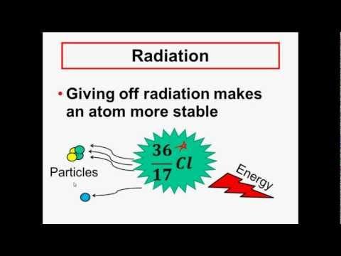 NUCLEAR CHEMISTRY - Radioactivity &  Radiation - Alpha, Beta, Gamma