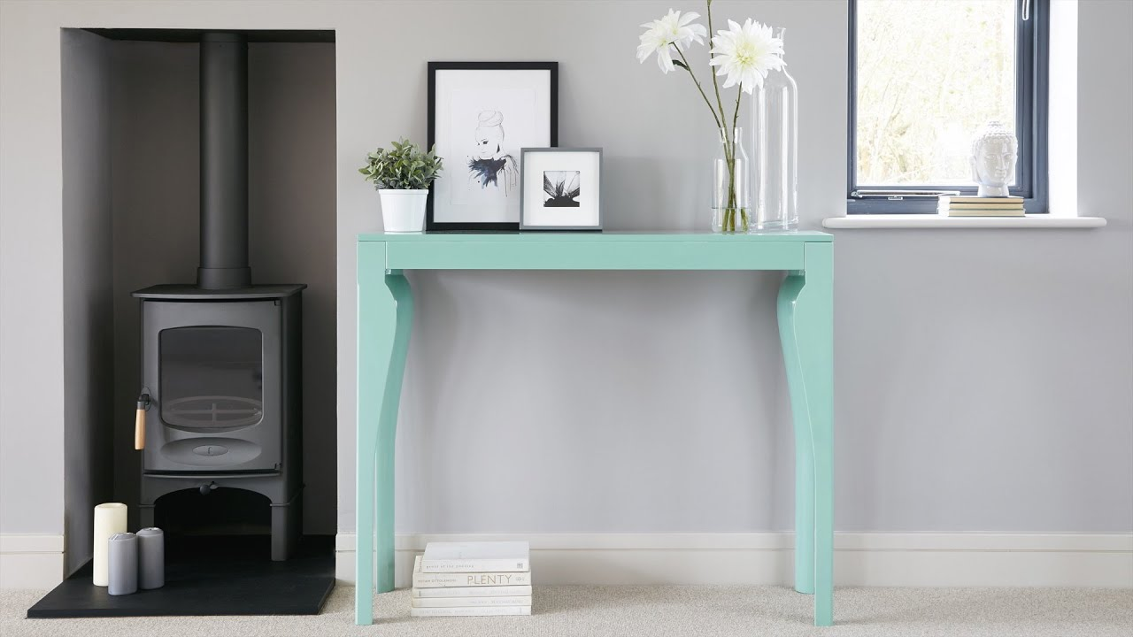 modern white console table. Modern White Console Table I
