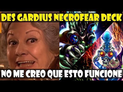 DES GARDIUS NECROFEAR DECK | OS CUENTO MI VIDA MIENTRAS INVOCO DEMONIOS - DUEL LINKS