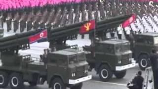 Espectacular desfile militar del ejército popular de Corea del Norte parte 2 de 2