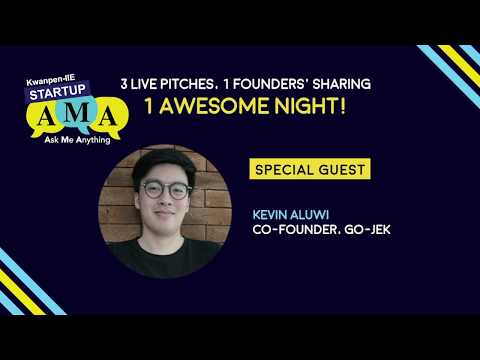 Kwanpen-IIE Startup AMA – Mar 2018 with Kevin Aluwi, Co-Founder, GO-JEK Indonesia