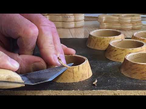 Изготовление чайной чашки из бересты.