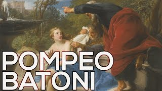Pompeo Batoni: A collection of 277 paintings (HD)