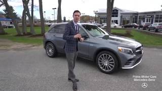 2019 Mercedes-Benz AMG GLC43 Selenite Grey /