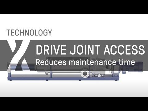 Verschieben Sie es einfach – Drive Joint Access reduziert Wartungszeit für Trichterpumpen drastisch