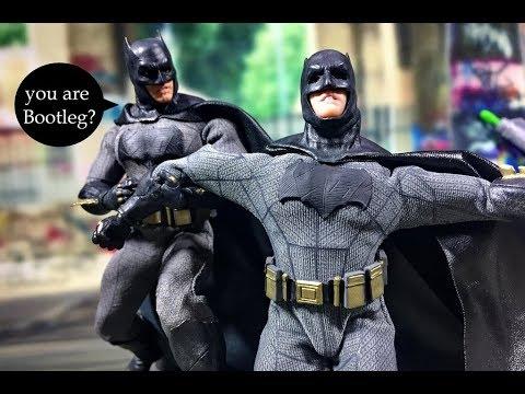 [Review] Bootleg Mezco One:12 - BVS Batman (งานก็อบ) - YouTube