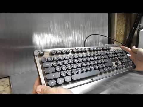 AZIO Retro Classic Elwood Mechanical Keyboard Review
