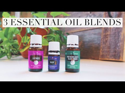 3 Essential Oil Diffuser Blends