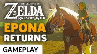 Zelda: Breath of the Wild - Epona Gameplay