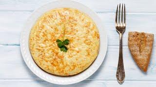 Tortilla de papas y cebollas - Cocineros argentinos