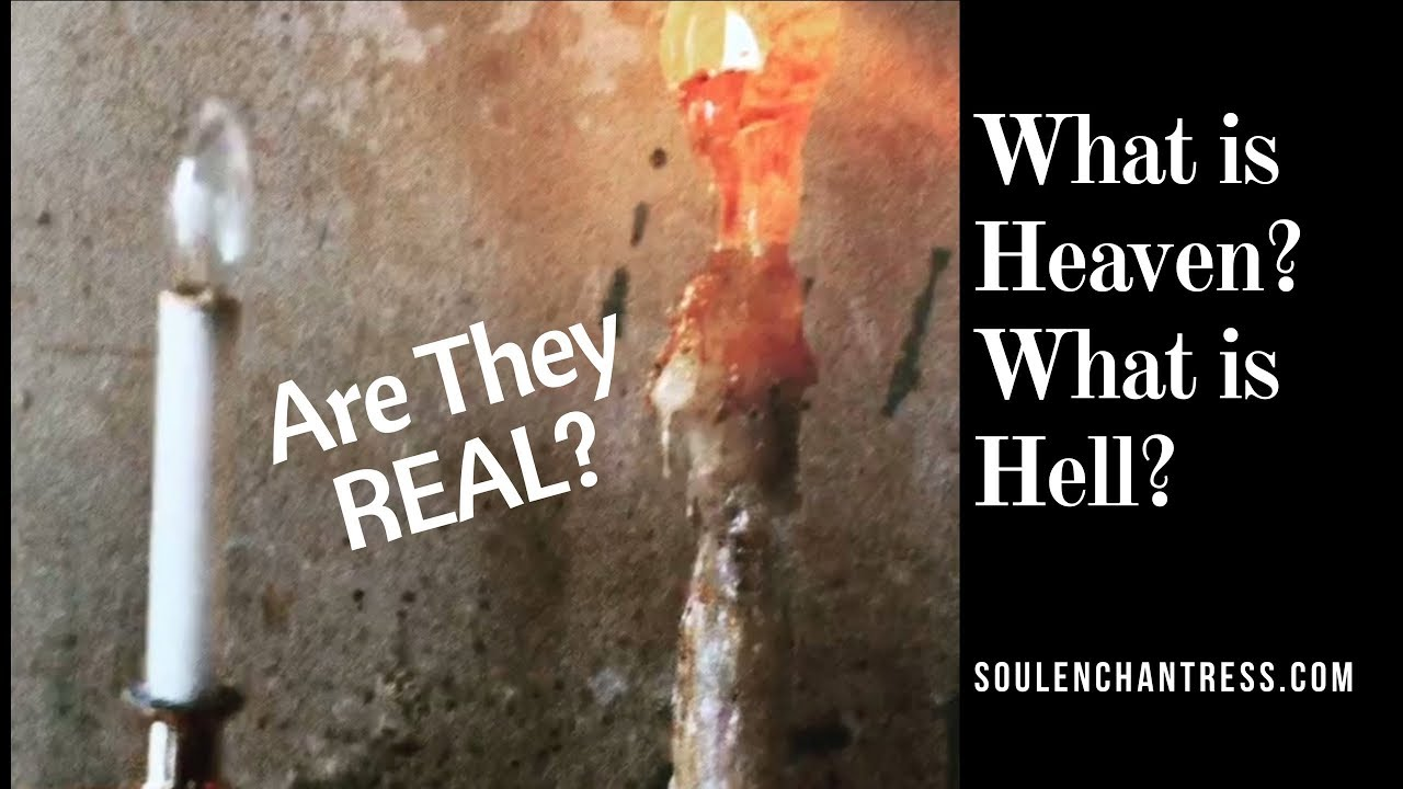 is heaven hell real essay The tools you need to write a quality essay or the other side of heaven came from a real life story that it is up to us to make heaven or hell of.