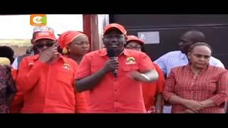 Rais na kikosi cha Jubilee watoa cheche za maneno Rabai