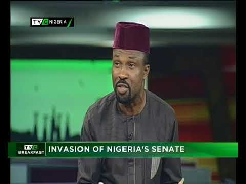 TVC Breakfast 19th April 2018 | Invasion of Nigeria's Senate