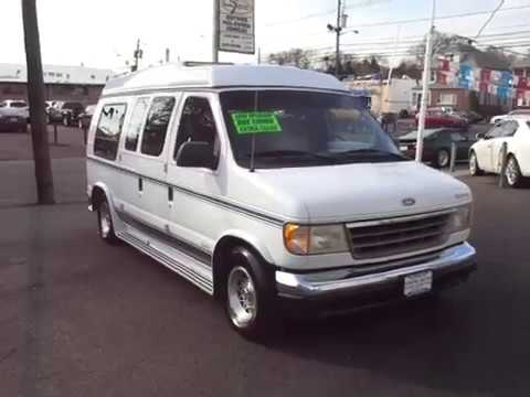 1993 Ford Econoline E150 Conversion Van 98K Extra Clean One Owner