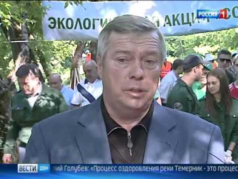 В Ростове взялись за масштабную очистку реки Темерник