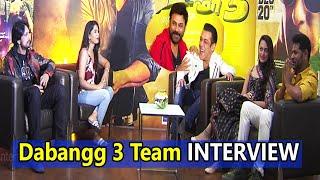 Dabangg 3 Team Interview | Prabhudeva, Venkatesh, Salman Khan, Kiccha Sudeep, Sonakshi Sinha