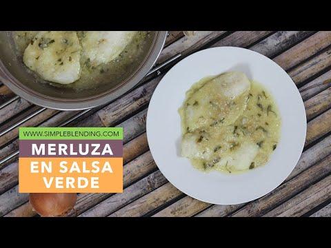 Merluza en salsa verde   Receta con merluza muy fácil   Receta saludable