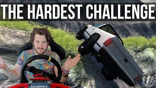 Is This The Most Difficult Challenge In BeamNG?