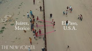 Why a Designer Turned the U.S.-Mexico Border Into an Art Installation | The New Yorker
