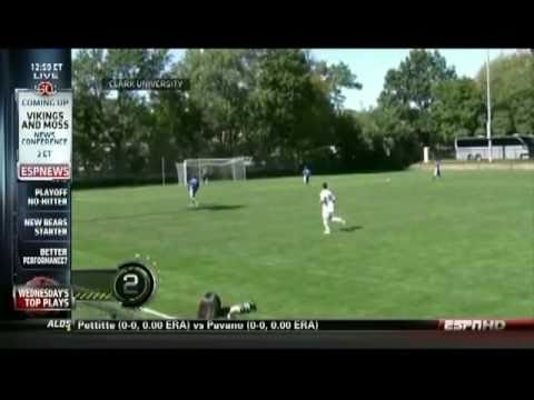 4 Second Kick-off Goal - #2 on ESPN SportsCenter Top 10 Plays of the Day