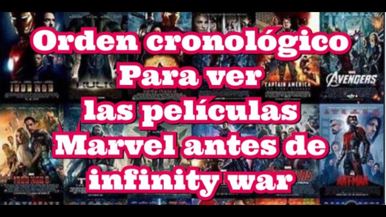 Como Ver Las Peliculas Marvel En Orden Cronologico Antes De Infinity