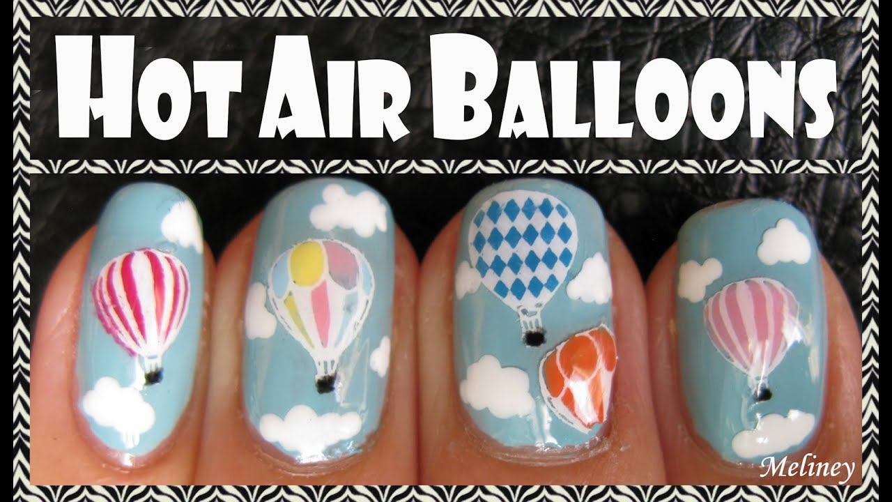 How to create stamping stickers hot air balloon nail art design how to create stamping stickers hot air balloon nail art design tutorial youtube prinsesfo Choice Image