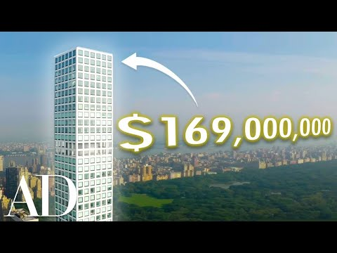 Inside The Most Expensive Penthouse In Manhattan ($169M) | On The Market | Architectural Digest