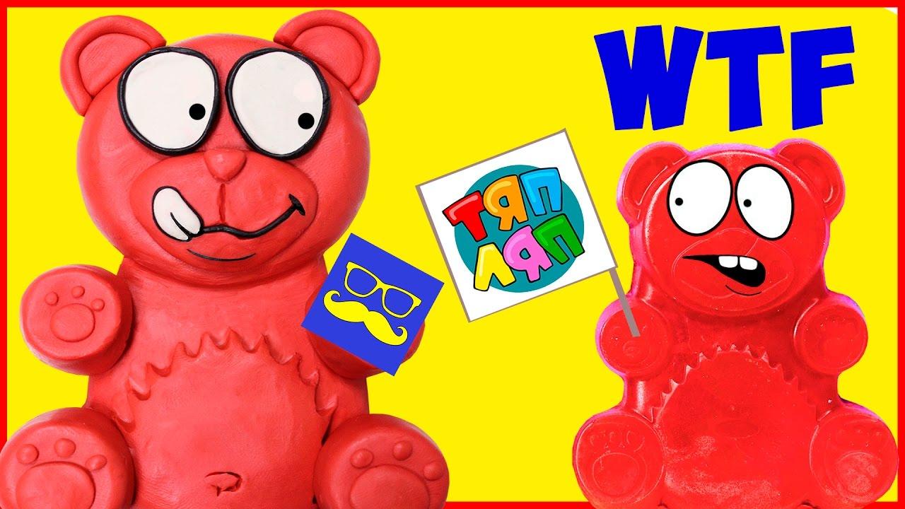 валерка желейный медведь раскраски онлайн раскрашивать