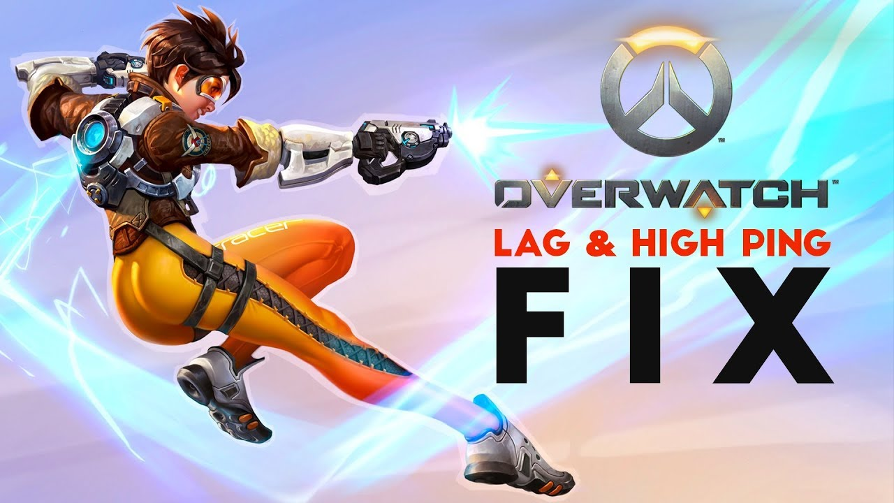 -=(OVERWATCH)=- HOW TO SOLVE FPS DROPS / PING LAG IN OVERWATCH