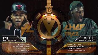 JC VS CHEF TREZ SMACK/ URL RAP BATTLE | URLTV