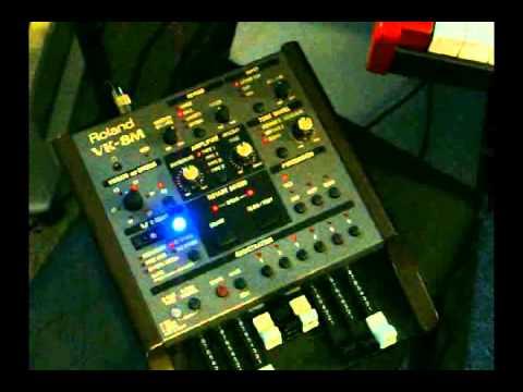Roland VK-8M Organ Module Live Demo