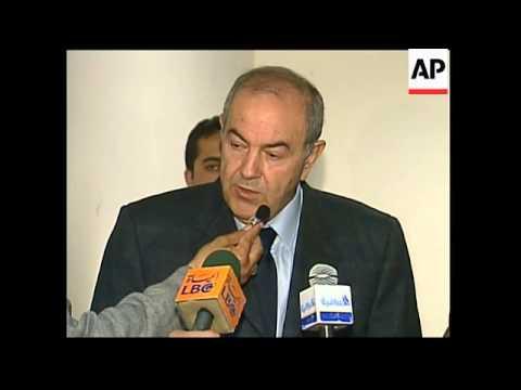 Statement from interim Iraqi PM