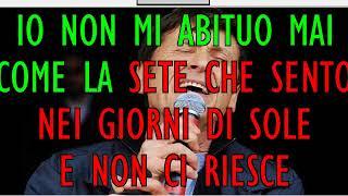 Gianni Morandi Che Meraviglia Sei KARAOKE con testo