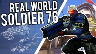 The TECH! - Building Soldier 76 from OVERWATCH