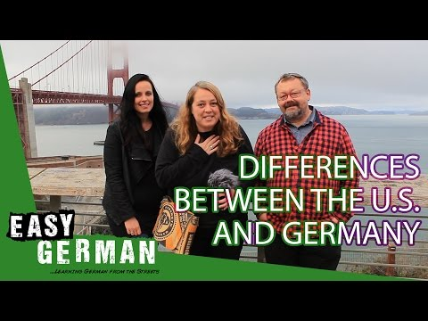 Differences between the USA and Germany (Road trip) | Easy German 167