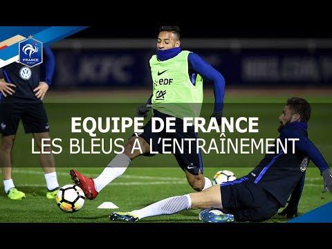 Equipe de France, Entraînement des Bleus, reportage I FFF 2017