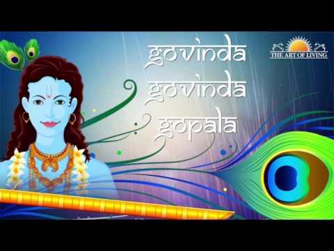 Govinda Govinda Gopala | Sachin Limaye | Art Of Living Krishna Bhajans