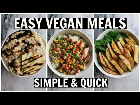 MY GO-TO LAZY VEGAN MEALS    Healthy, Easy, Fast