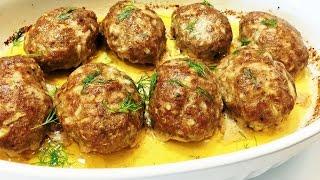 КОТЛЕТЫ В ДУХОВКЕ. Нежные. Лучший рецепт. .  Meatballs in the oven.