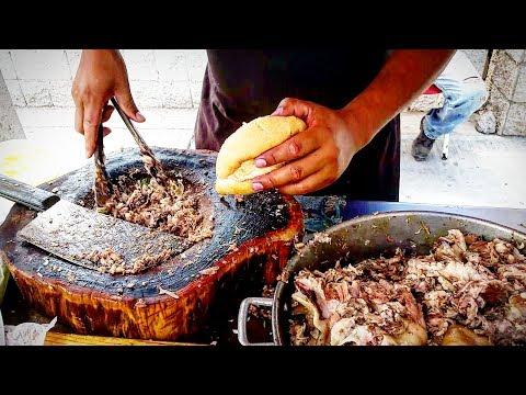 PORK HEAD TACOS!! - WARNING!! - Mexican Street Food Is ADDICTIVE  - LARA'S Street Tacos