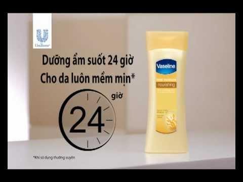 Sữa dưỡng ẩm toàn thân Vaseline chiết xuất yến mạch