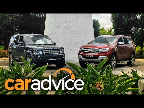 2016 Ford Everest/Endeavour Titanium v Land Rover Discovery 4 SDV6 comparison review