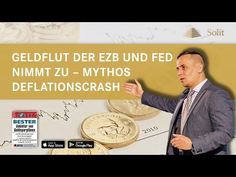 Geldflut der EZB und Fed nimmt zu – Mythos Deflationscrash  − Webinar mit M.Blaschzok (05.06.2020)