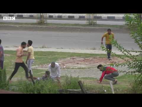 Indian Administered Kashmir: Protests in Soura leave many injured - BBCURDU