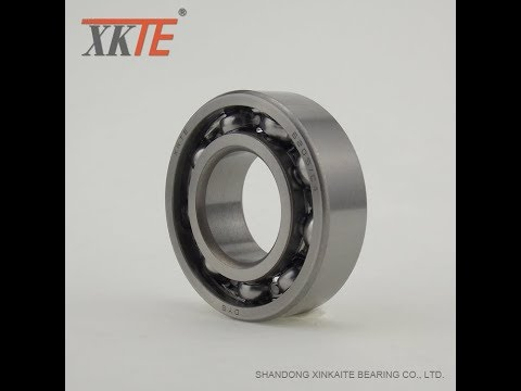 Open Ball Bearing 6205 C3 C4 for conveyor idler and production process