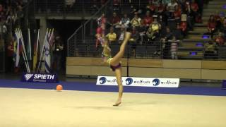 Berlin Masters 2014: Laura Jung with clubs