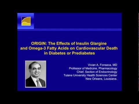 Vivian Fonseca MD commentary ORIGIN omega-3 diabetes trial