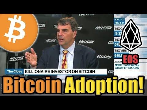 Bitcoin OFFICIALLY Mainstream | EOS FOMO | Ernst & Young Blockchain | $5 Million Crypto Against SEC